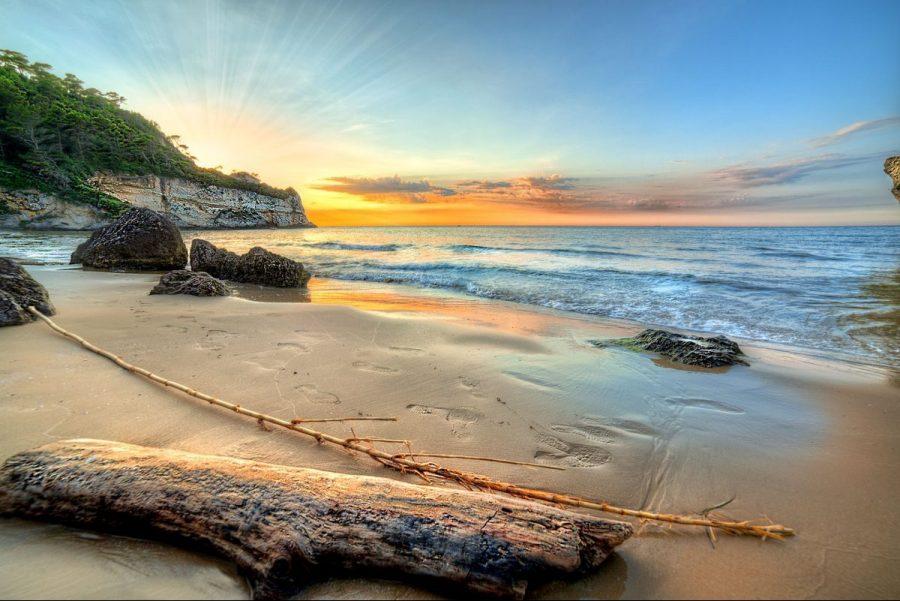 tramonto-spiaggia-peschici-albano-nicola-foto